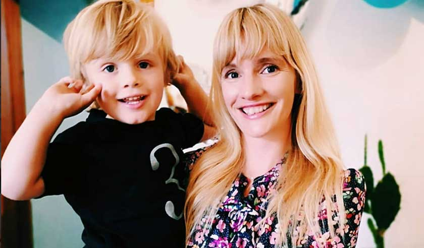 The Mother Edit's Rebecca Cox & son Jack