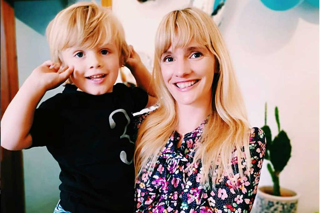 The Mother Edit's Rebecca Cox & son Jack