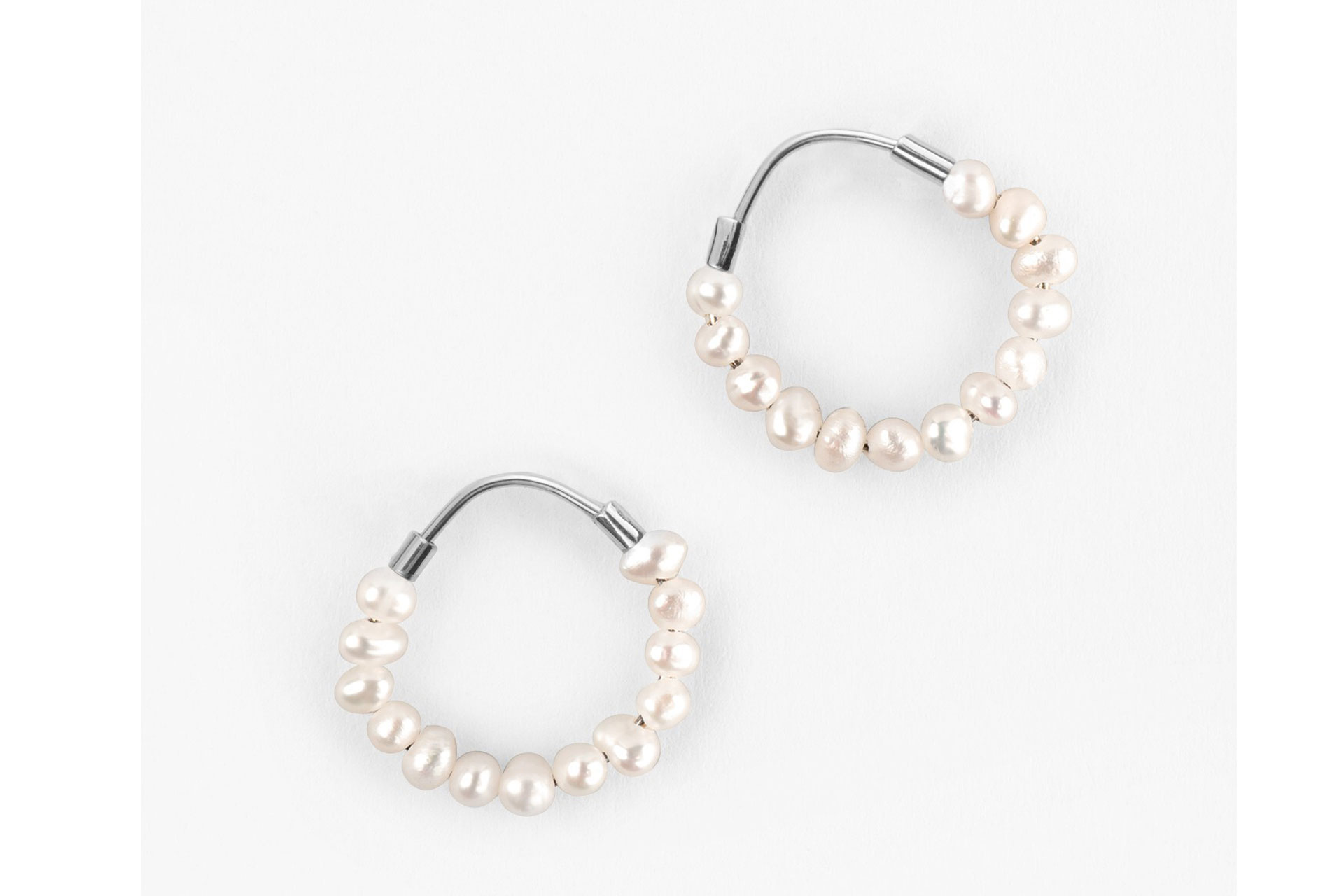 Hush Pearl Ring Earrings