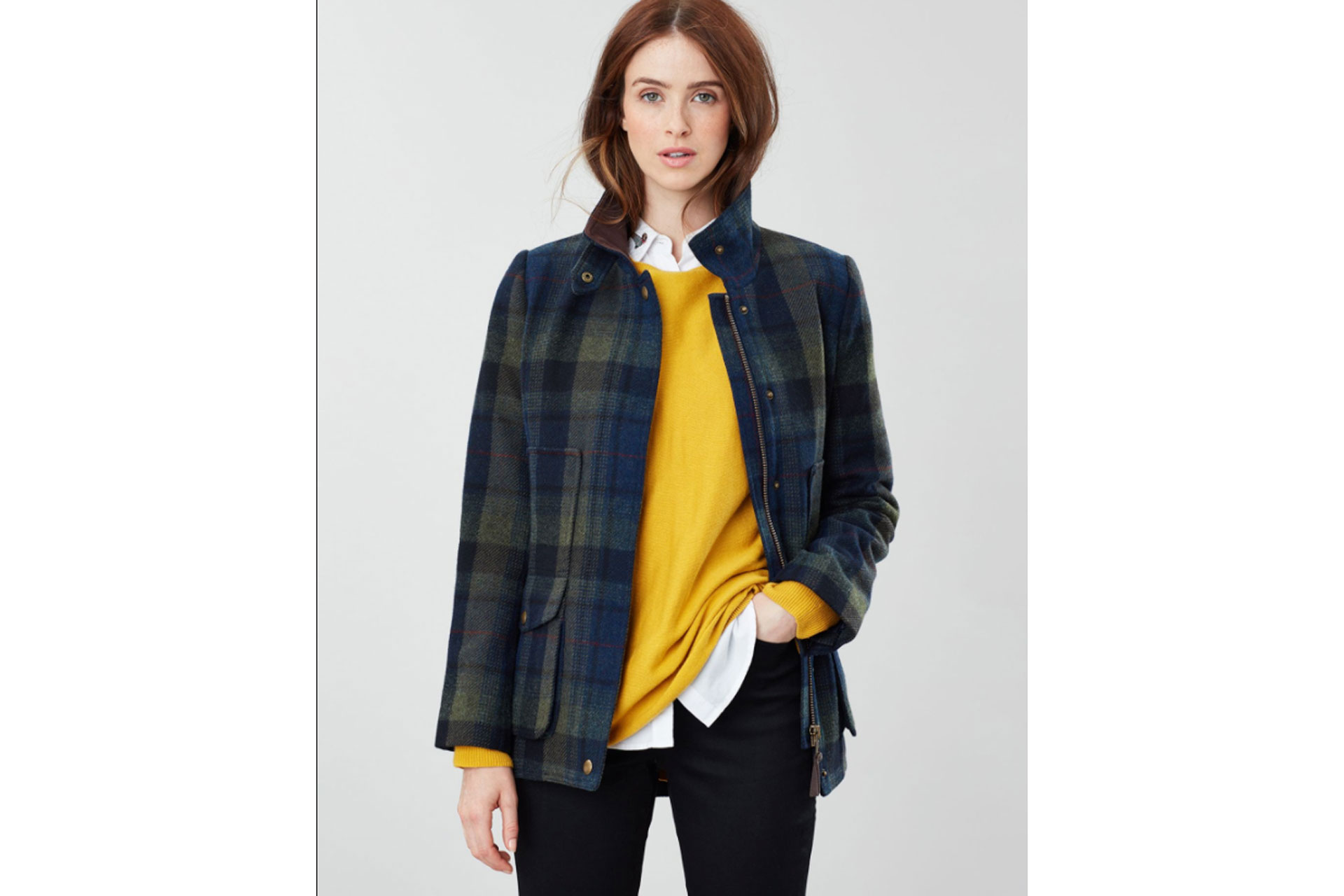 Joules Heritage Fieldcoat Tweed Coat